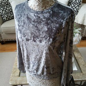 GORGEOUS Crushed VELVET Boho TOP By Cabin FEVER